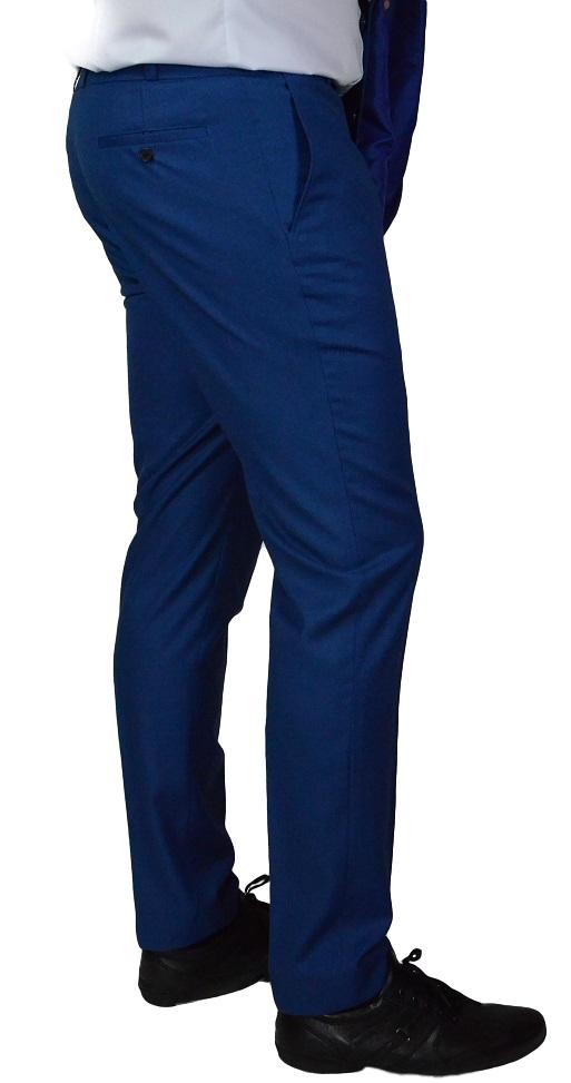 6c6644df722 Pantalon de costume bleu roi Tall Altitude Plenitude Pantalon bleu ...